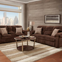 union-furniture-living room-1400-reclining-sofa-loveseat
