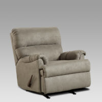 union-furniture-living room-2155-gray-microfiber-recliner