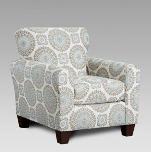 union-furniture-living room-3440-9001-tan-blue-accent-chair