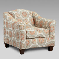 union-furniture-living room-5040-9011-tan-orange-accent-chair