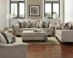 union-furniture-living room-tan-sofa-loveseat