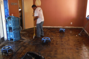 water damage west hills ca