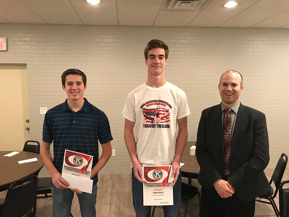 December 2018 Students Of The Month