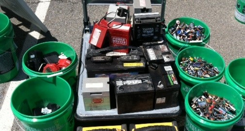We recycling a variety of batteries for our commercial customers.  We do not offer consumer battery recycling.
