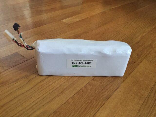 liFEpO4 battery pack PGH Batteries rebuilt