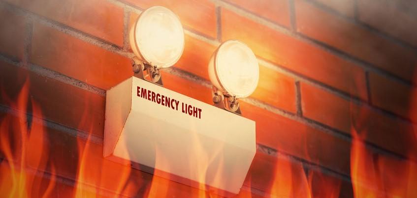 Emergency light - Test them regularly!