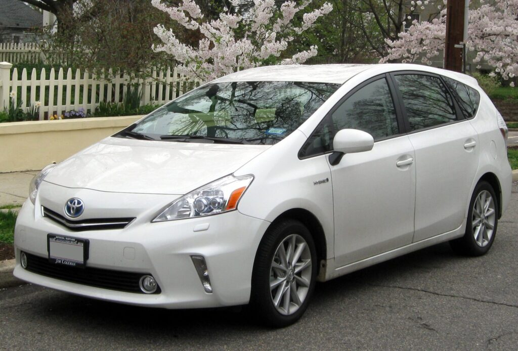 A Prius V is an awesome battery delivery vehicle