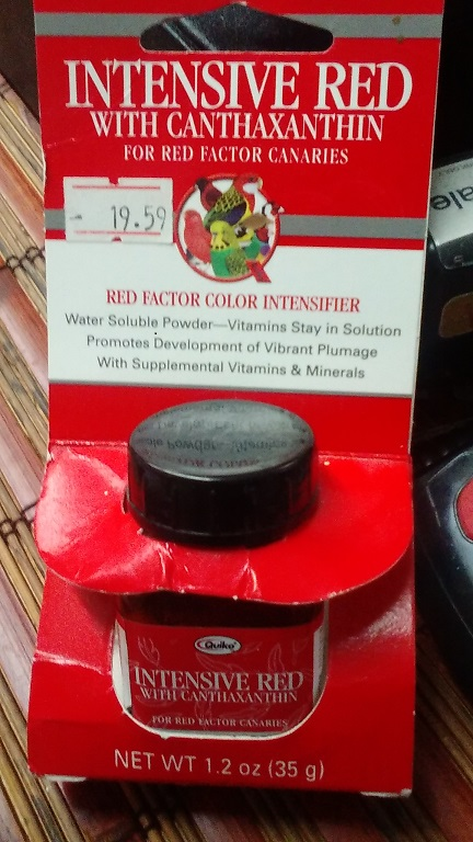 Red Factor Color Intensifier