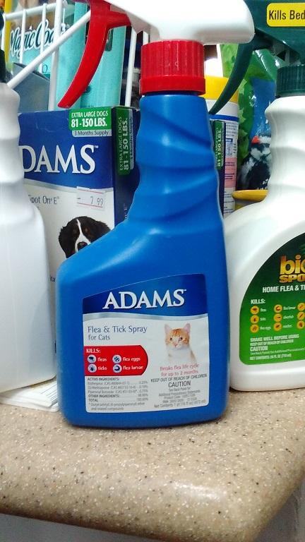 Adams Flea & Tick Spray for Cats