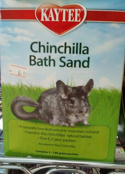 Chinchilla Bath Sand