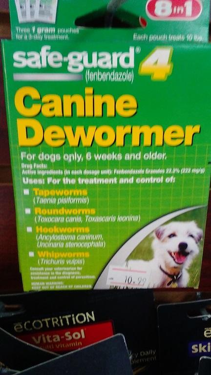 canine dewormer