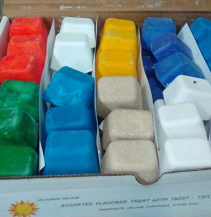mineral blocks  assorted flavors