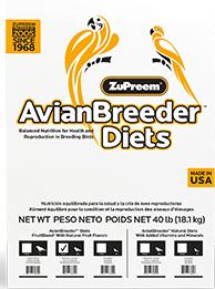 Zupreem Avian Breeder Diets FruitBlend