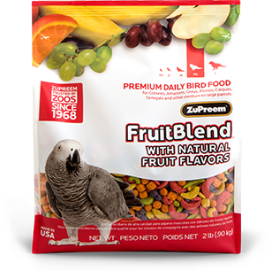 zupreem fruitblend with natural fruit flavors