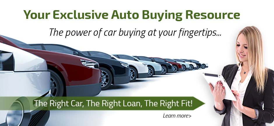 Your Exclusive Auto Buying Resource. The power of car buying at your fingertips.. The right car, The right Loan, The Right Fit.