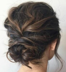 formal upstyle hair 1