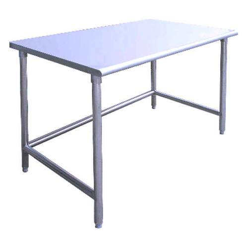 Work Table 48″ Wide x 72″ Long  – Teflon Coated Stainless Steel Top