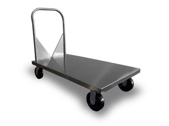 Utility Cart – Stainless Steel Flat Bed Utility Cart