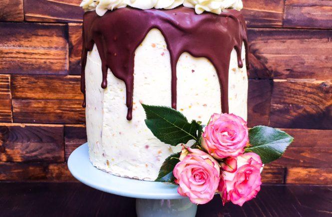 pistachio butter cake
