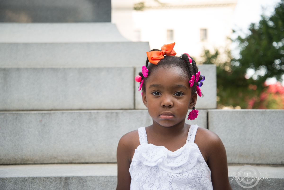 Little Girl at the Capital