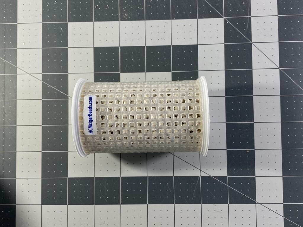 4 inch Canister of HCM Beads