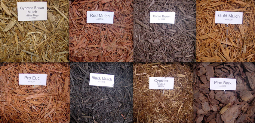 Different Types of Mulch
