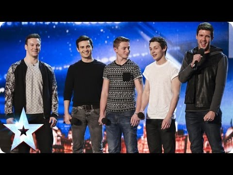 They aren't your typical boy band. I got the chills the moment they started singing…beautiful!