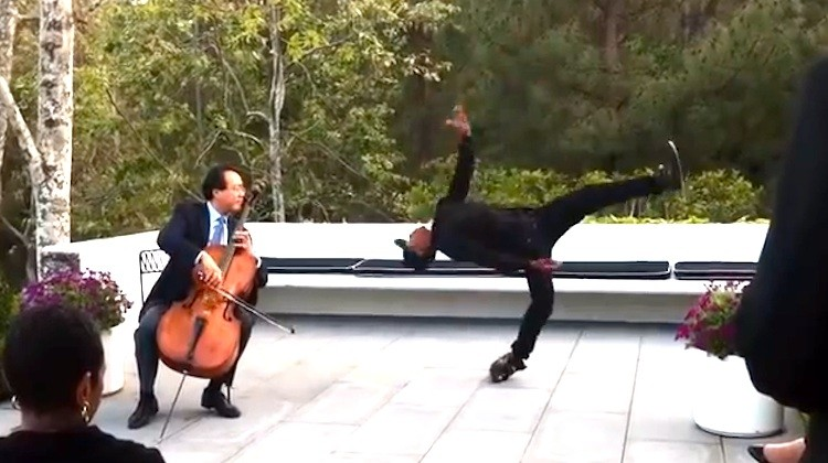 Yo-Yo-Ma Collaborates With An Amazingly Talented Street Dancer And The Result Is Incredible!