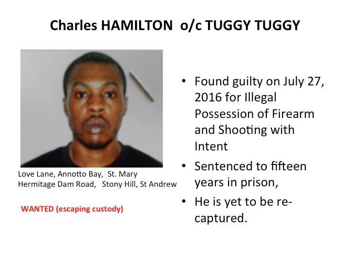 Police name top five most wanted Jamaican men 14