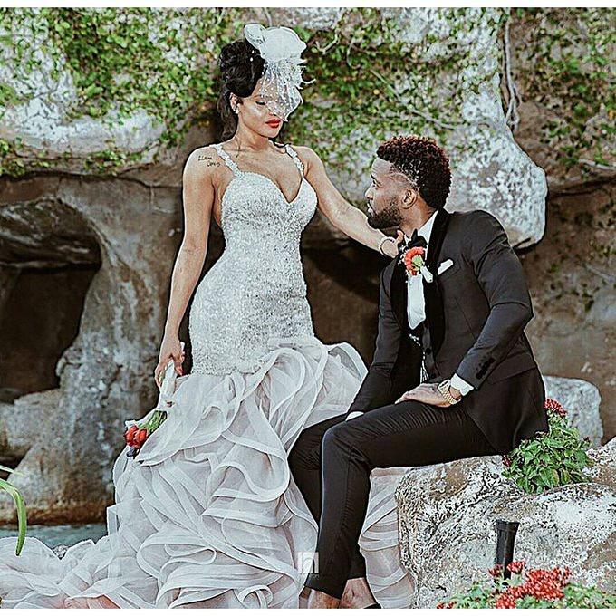 Konshens Gets Married to Longtime Girlfriend Latoya – Wedding Photos Included 16