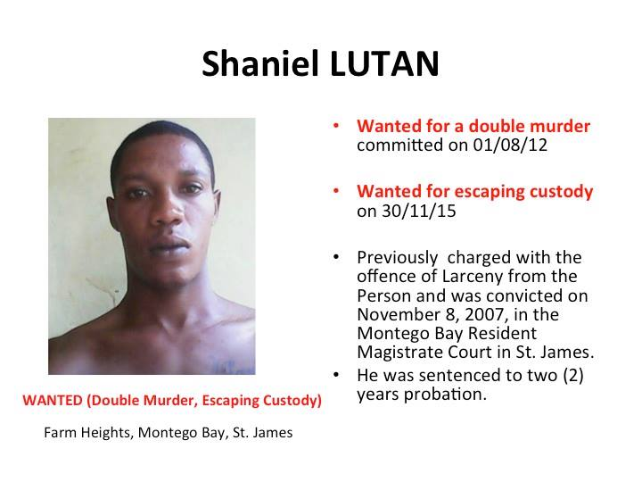 Police name top five most wanted Jamaican men 18