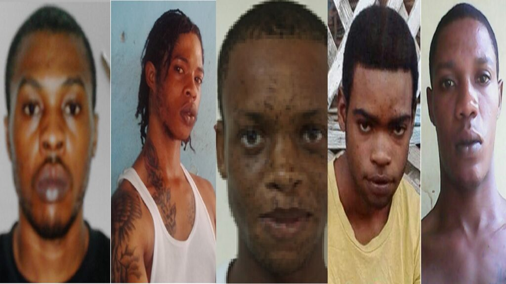 Police name top five most wanted Jamaican men 13