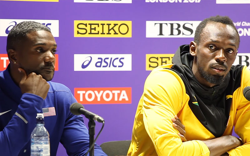 """Justin Gatlin – Bolt """"Is The Best Track And Field Olympian Of All Time"""" 3"""
