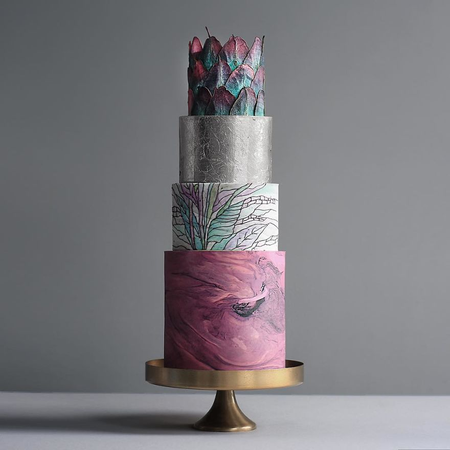 Luxurious Towering Cakes Look Like They Are Straight Out Of The Fairy Tale 4