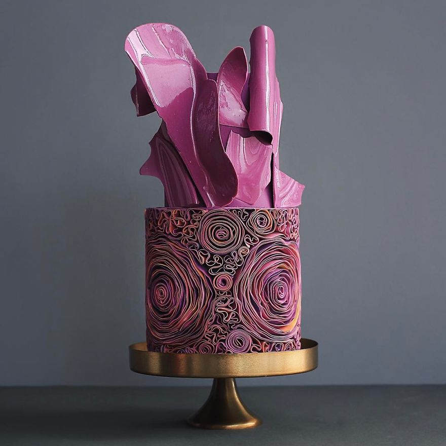 Luxurious Towering Cakes Look Like They Are Straight Out Of The Fairy Tale 85