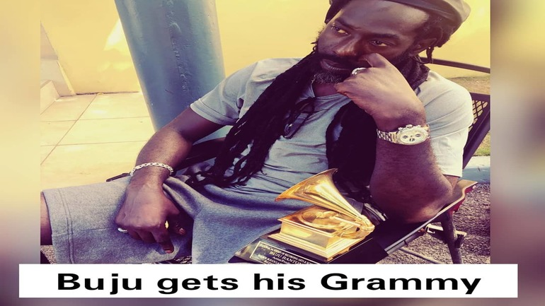 Buju Banton gets his Grammy 3