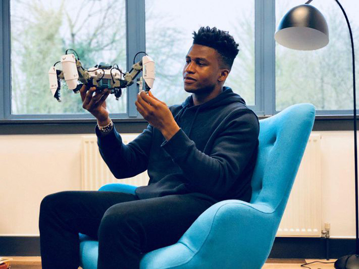 Meet 26 Year Old 'Silas Adekunle', The Highest Paid Robotics Engineer In The World – Video 1