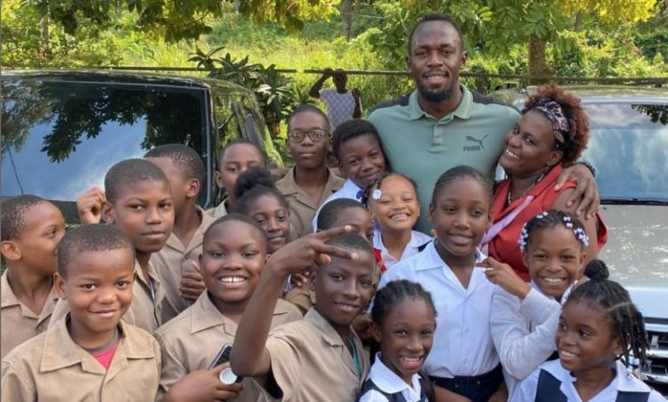 Usain Bolt Gifts 150 Laptops to Schools in Rural Jamaica 1