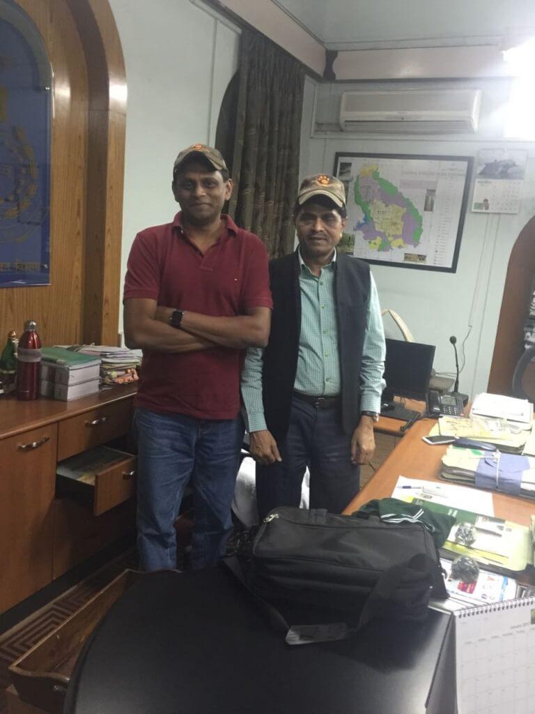 garad tadoba with manjunath gowda wildtrails india app