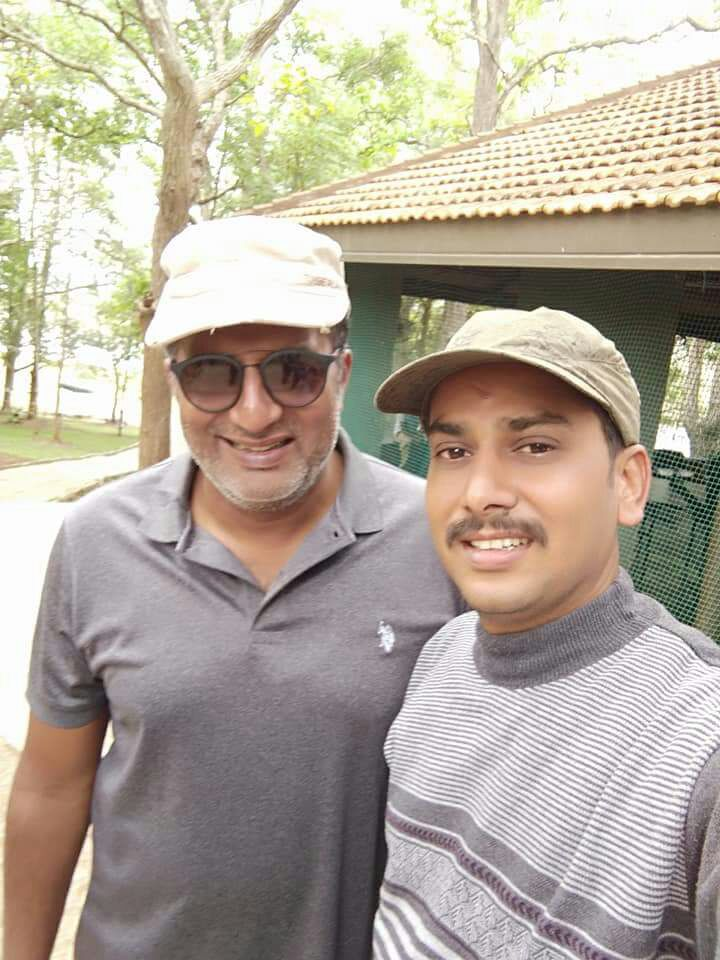 prasanna gowda with prakash raj wildtrails india