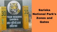 Gates and Zones In Sariska national Park