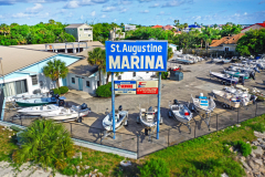 Saint  Augustine Marine / Vilano Beach / Signage
