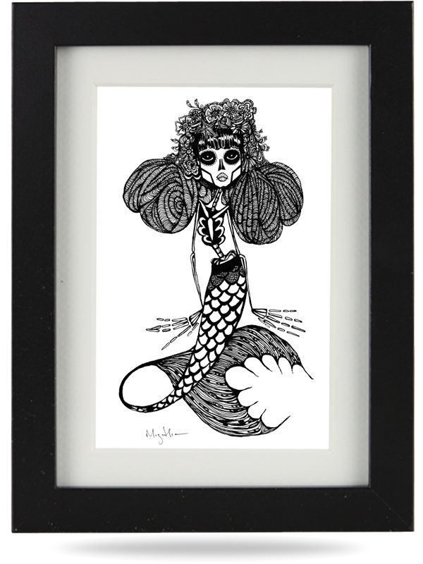 La Reina Mermaid of the Dead Doll