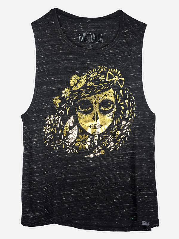 Muscle Tank Foil Catrina