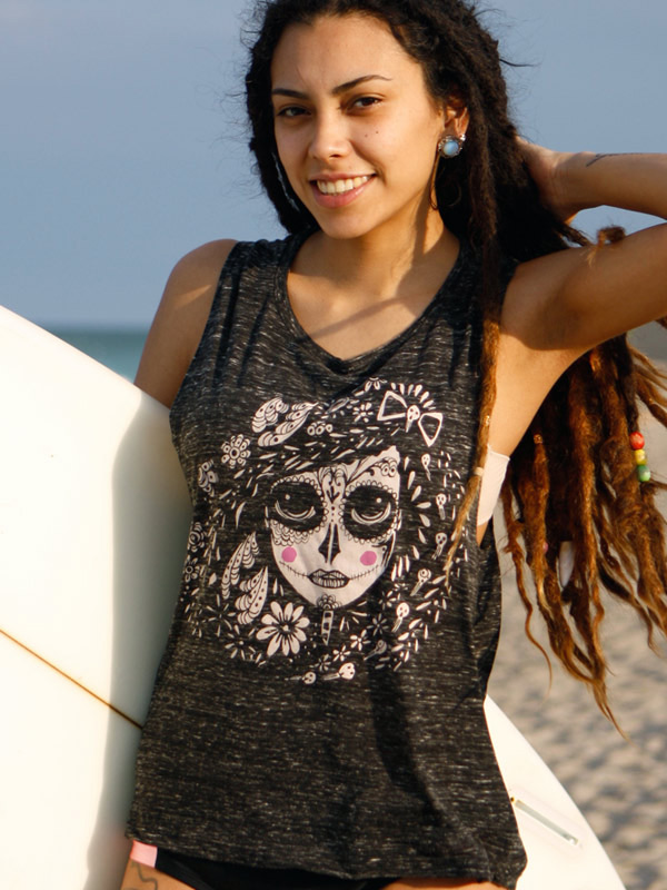Surfer Girl Tank Top Catrina