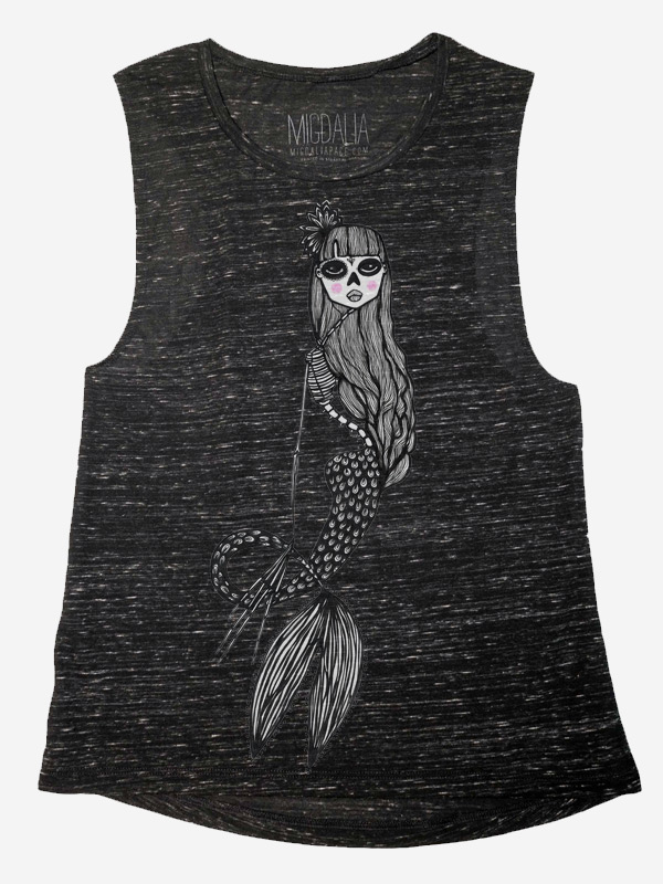 Dead Mermaid Muscle Tank