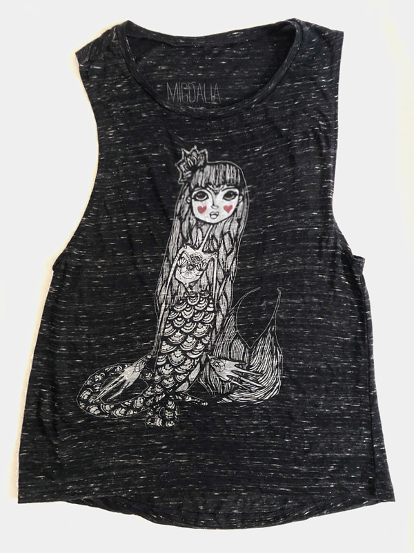 Mermaid Muscle Tank