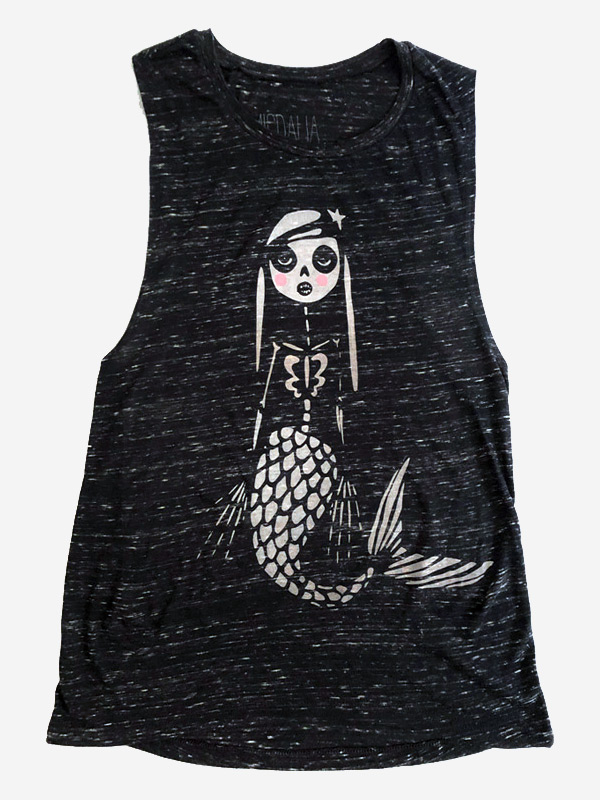 Little Mermaid Tank Top