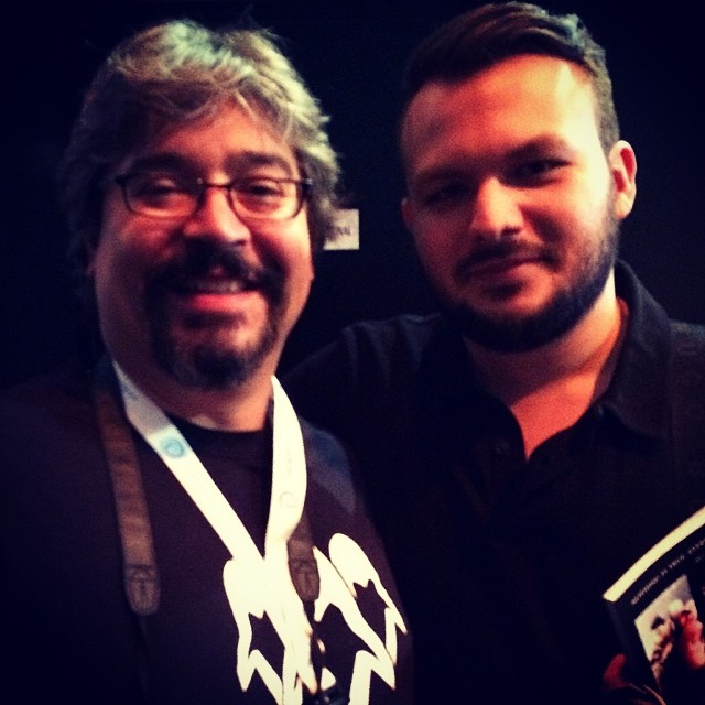With ComDev Gabe Graziani