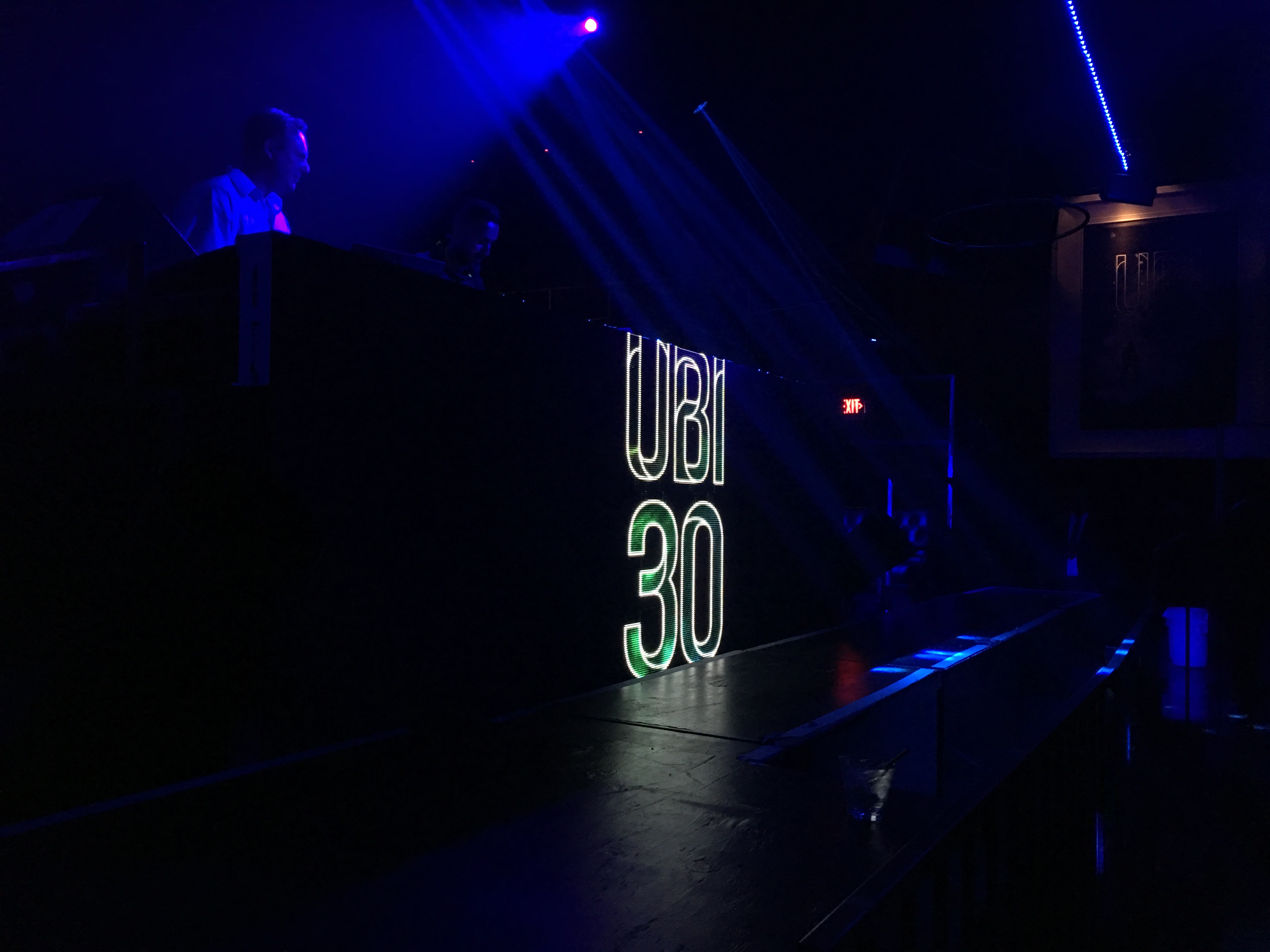 Ubi 30 Party in Hollywood / Interior - DJ Booth